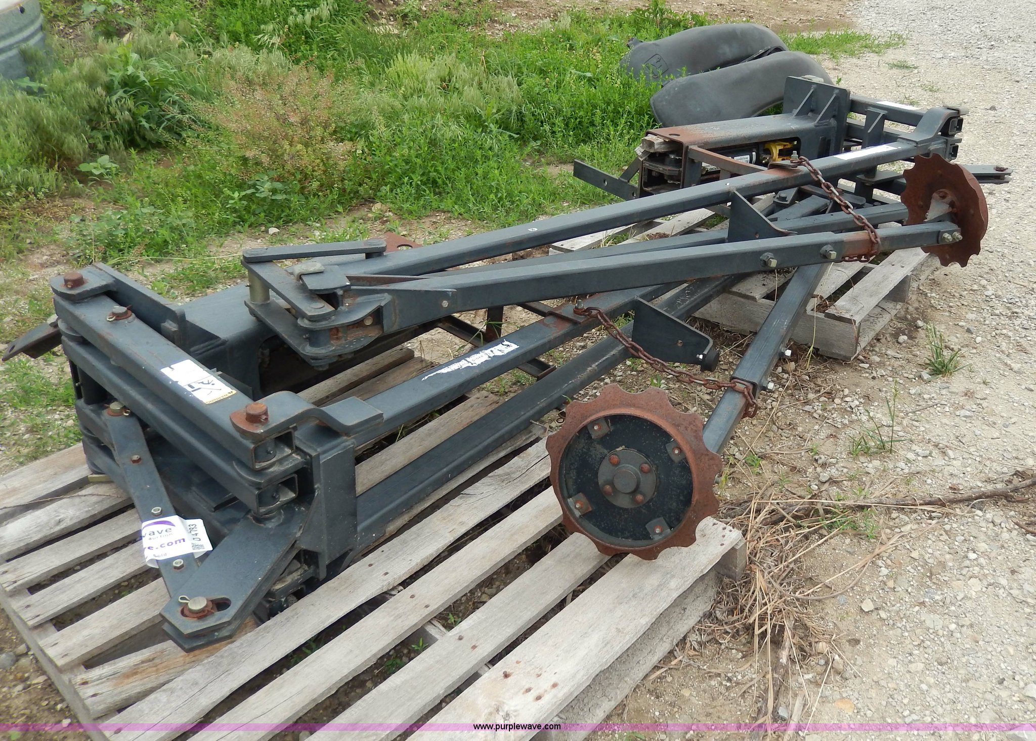 2 Yetter 30 Planter Markers Item D4783 Sold June 26