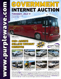 View July 9 Government Auction flyer