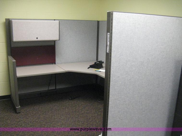 AH9003 Image For Item AH9003 (2) Module Office Cubicles
