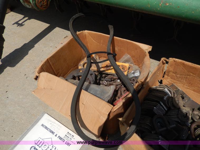 Mott Hammer knife flail mower | Item D8108 | SOLD! July 9 Go