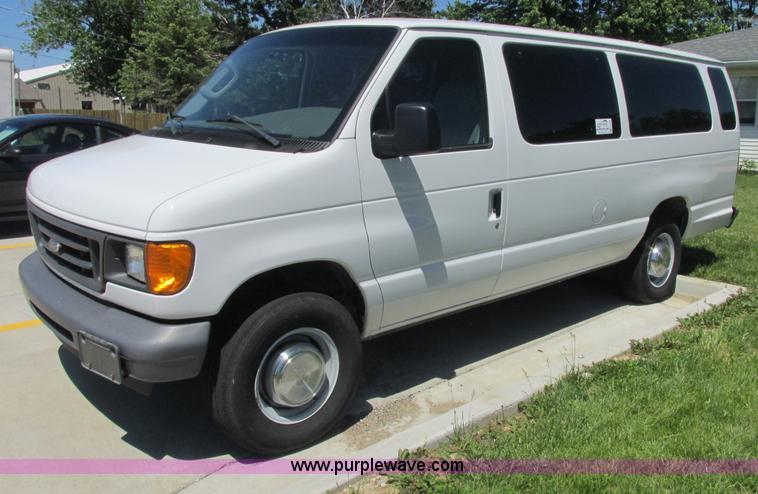 2006 Ford E350 XL Super Duty van | Item E7264 | SOLD! July 9