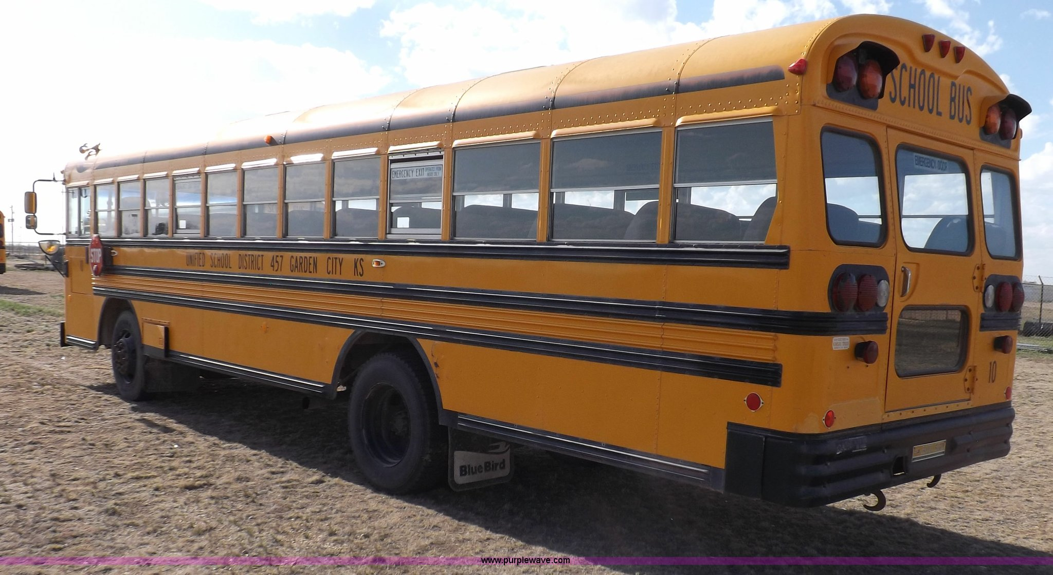 1992 Blue Bird school bus | Item H7123 | SOLD! July 9 Govern...