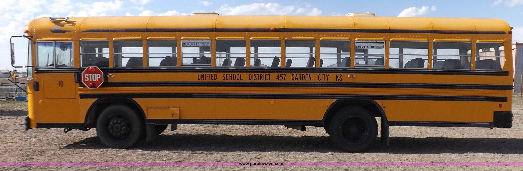1992 Blue Bird school bus | Item H7123 | SOLD! July 9 Govern...