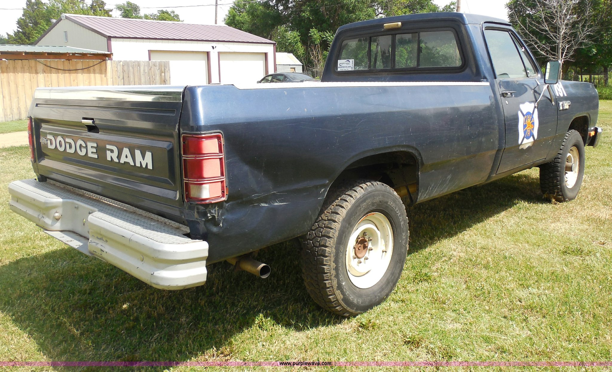 1986 Dodge W250 Pickup Truck Item H9996 Sold July 9 Gov Ram D250 Pictures Only Full Size In New Window