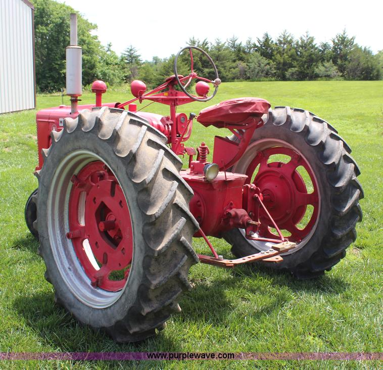 1943 Mccormick Farmall H tractor   Item G5042   SOLD! July 1