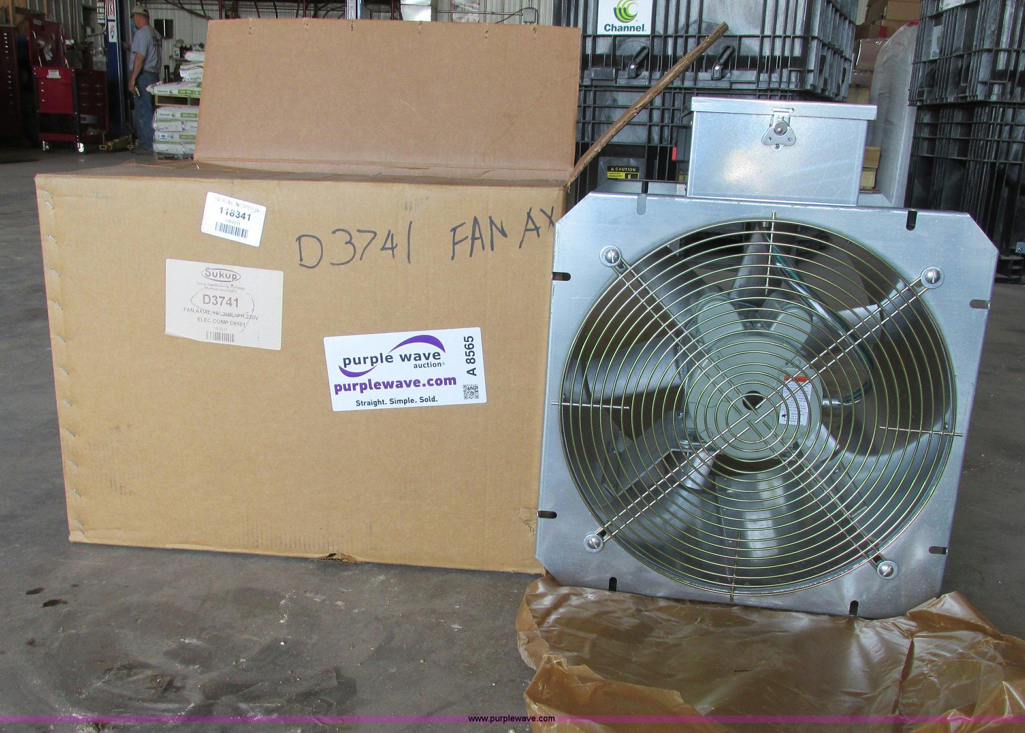 Sukup Wiring Diagram Harness Bush Hog Grain Bin Fan Item A8565 Sold July 10 Ag Equipmen
