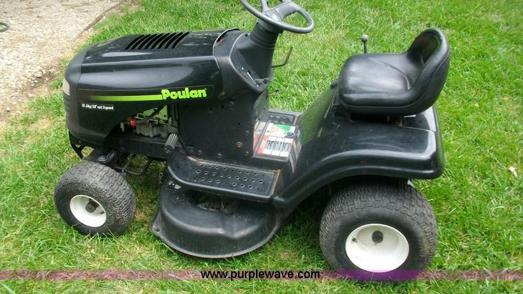 Poulan Riding Lawn Mower Pictures to pin on Pinterest