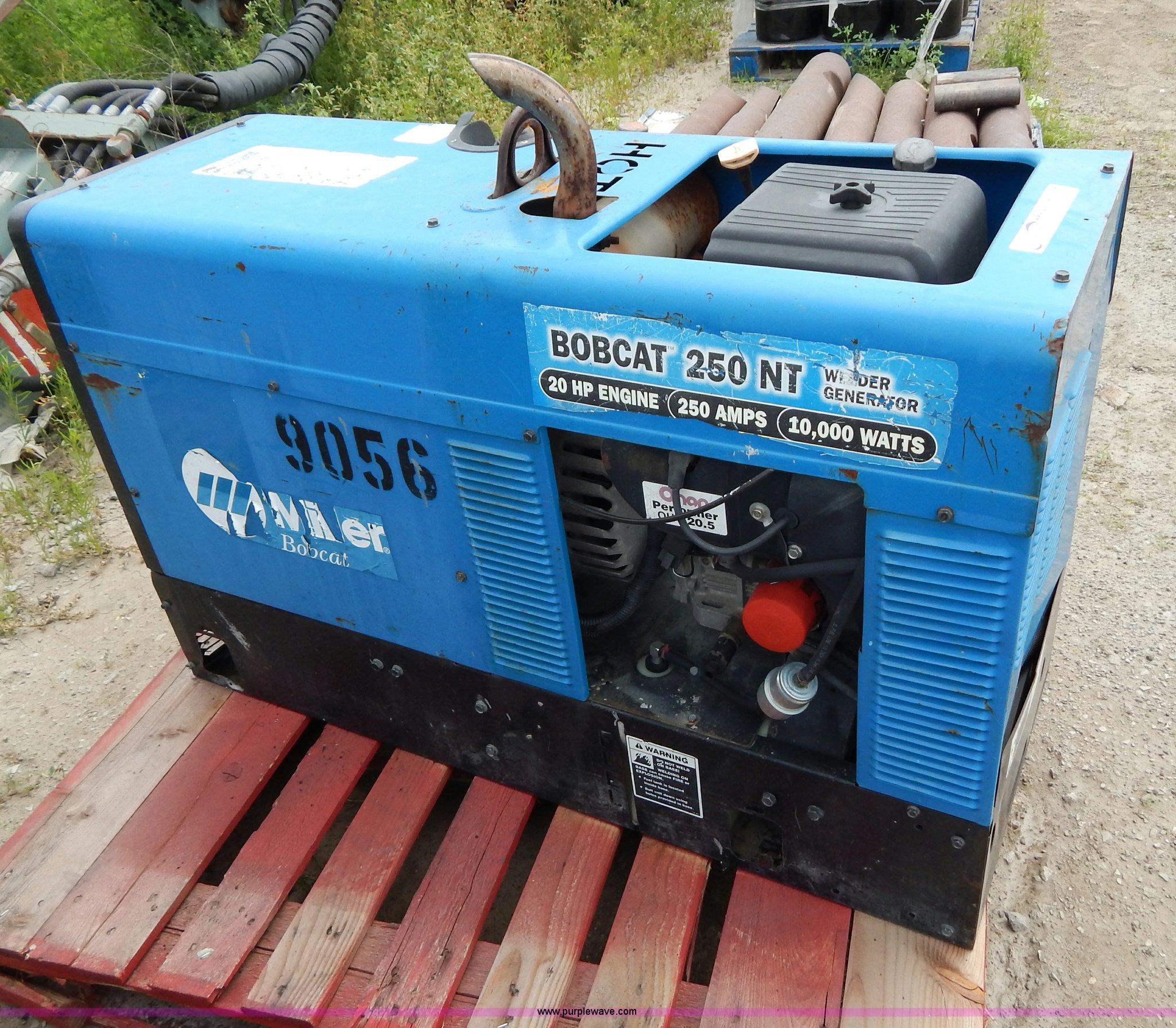 Miller Bobcat 250 Nt Manual Wiring Diagram 250nt Welder Generator Item Ae9821 Sold J Rh Purplewave Com 225 Parts