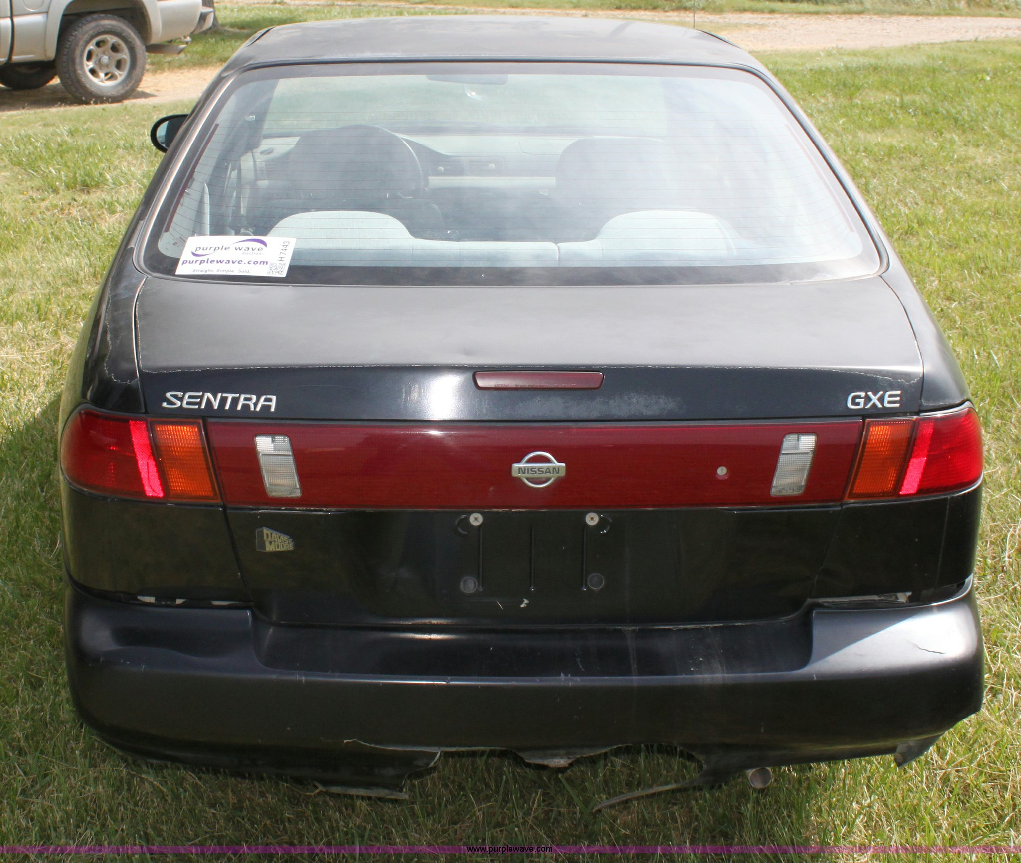 1997 Nissan Sentra Gxe Item H7443 Sold July 10 Midwest Manual Full Size In New Window