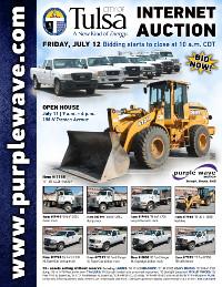 View July 12 City of Tulsa Surplus Auction flyer