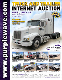 View July 16 Truck and Trailer Auction flyer