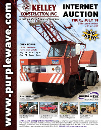 View July 18 Kelley Construction Retirement Auction flyer