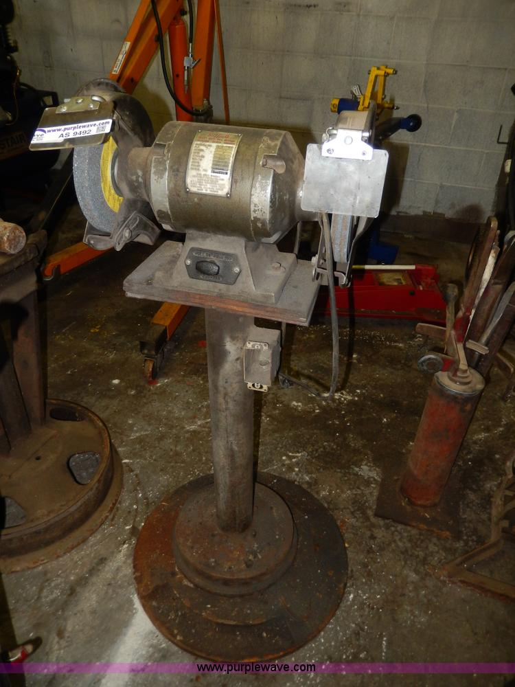 Buffalo Electric Bench Grinder No Reserve Auction On