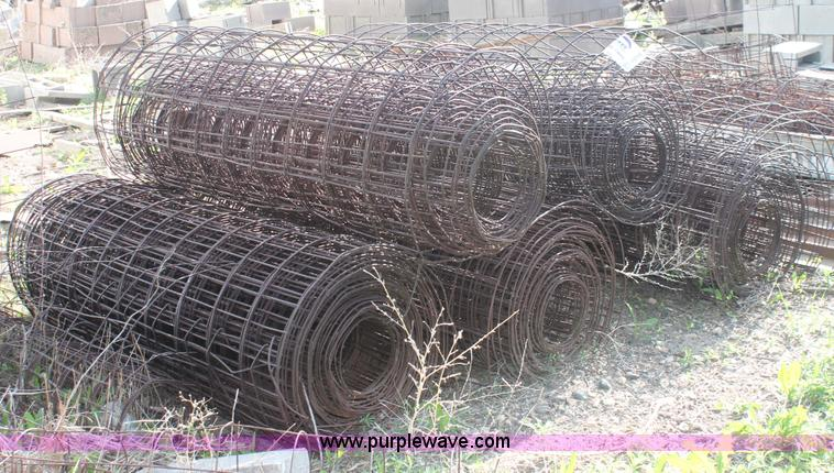 10) concrete wire mesh rolls | Item H3106 | SOLD! Construct