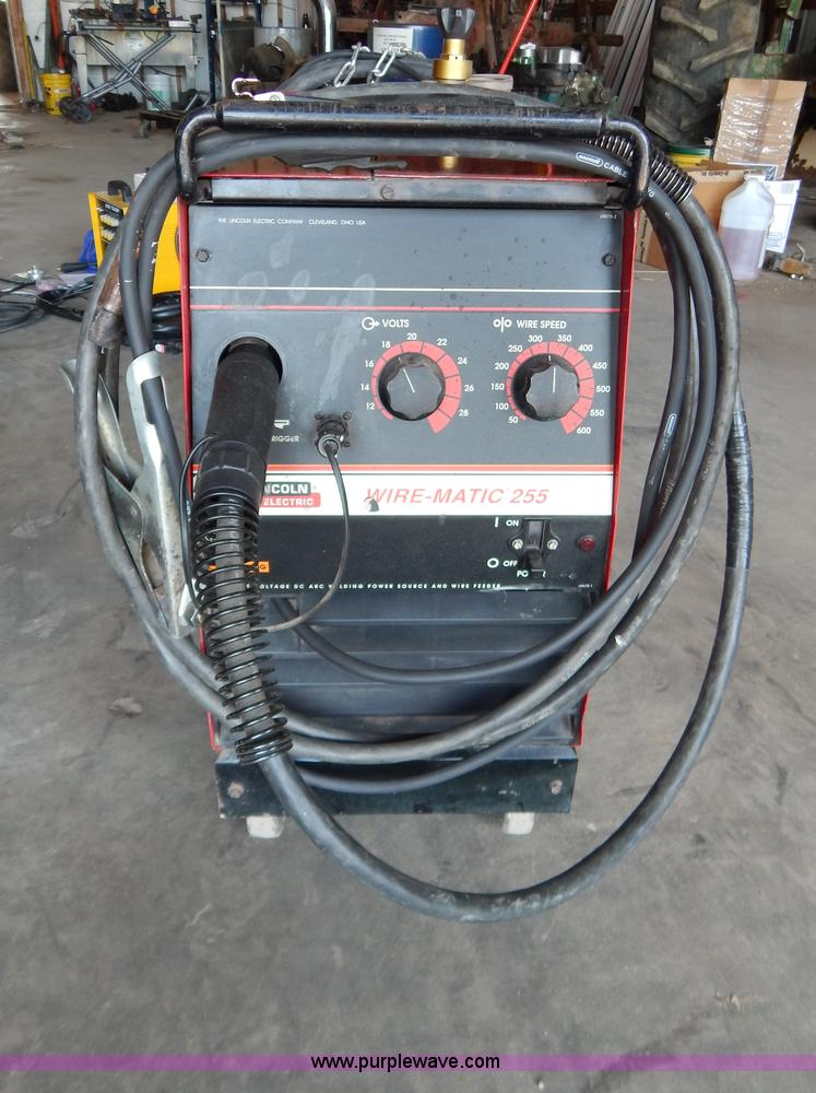 sold for lincoln wire march mig sale item welder auction image matic