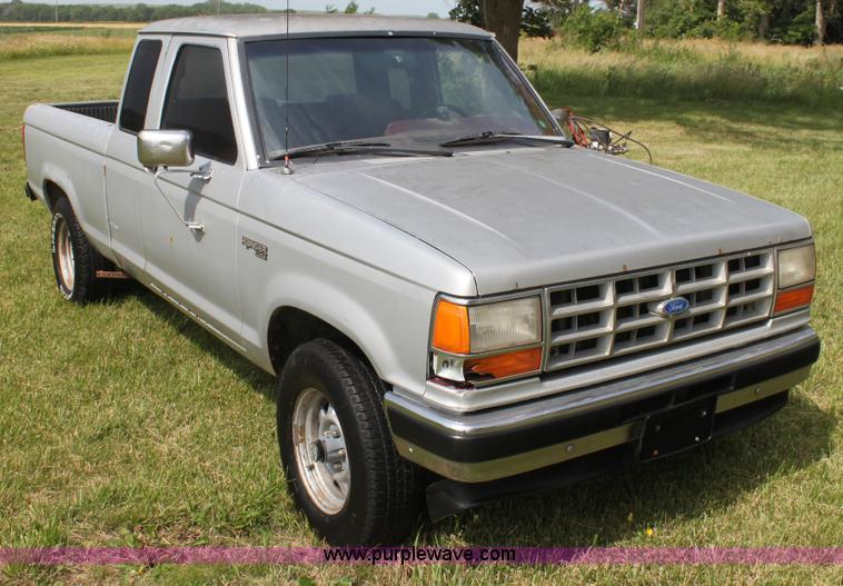 1989 ford ranger value
