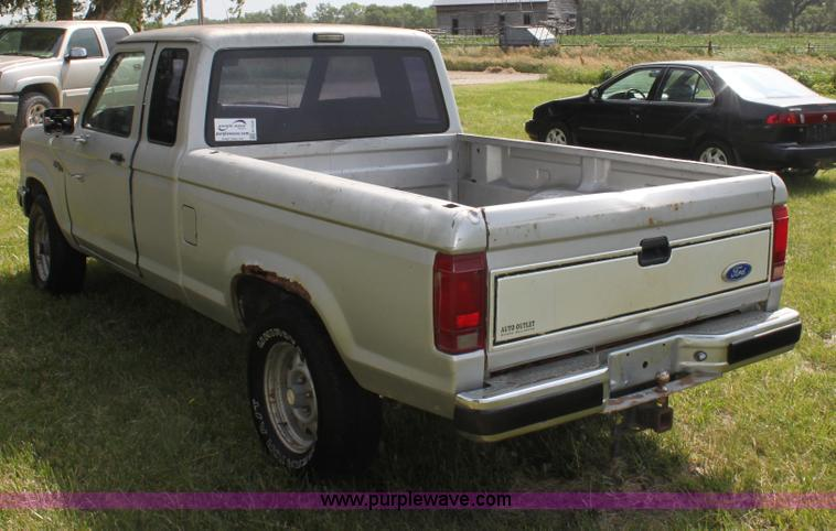 1989 ford ranger xlt supercab pickup truck item h7439. Black Bedroom Furniture Sets. Home Design Ideas