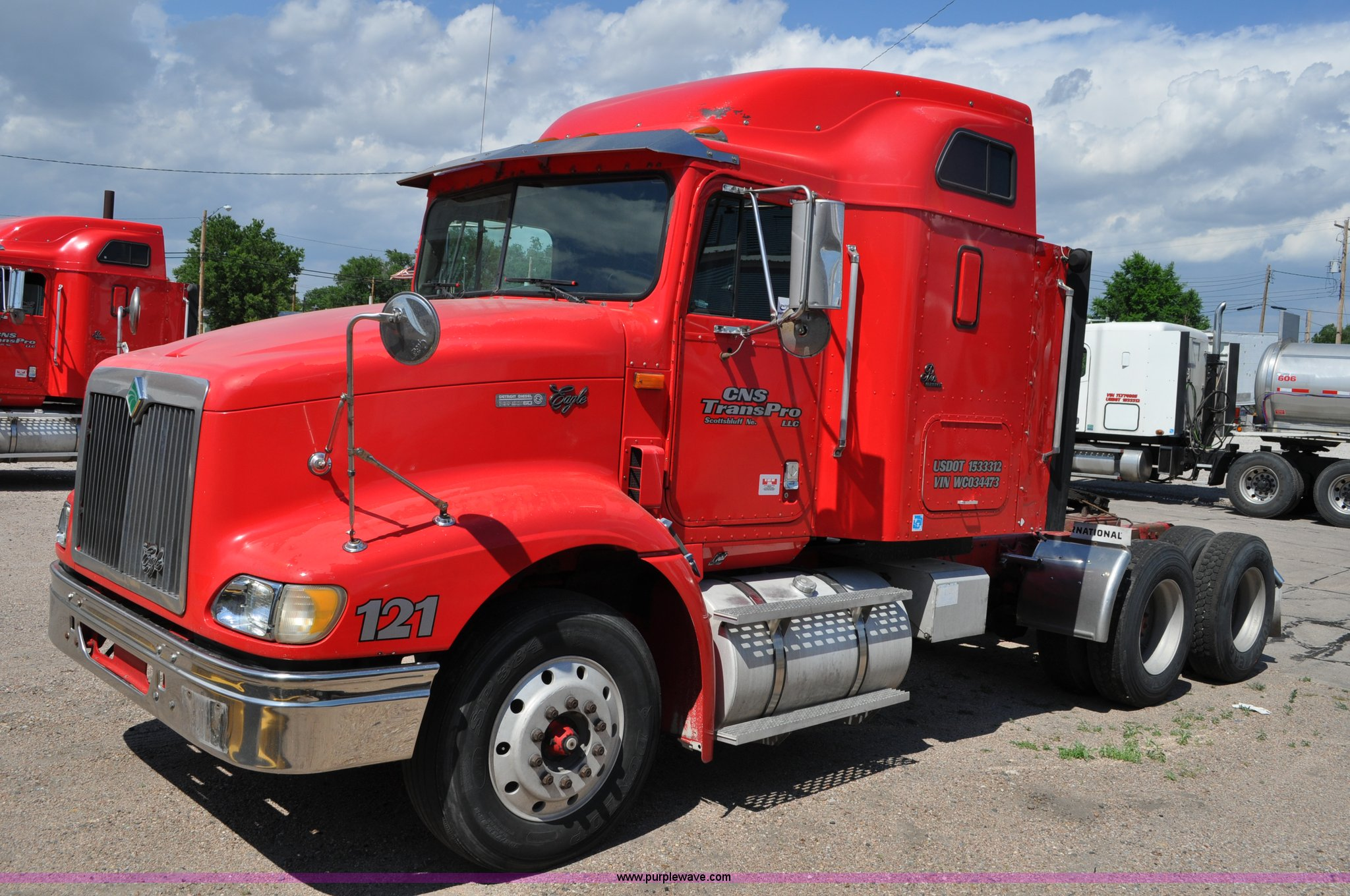 1998 international 9200 eagle semi truck item g6059 sold 1969 Mustang Wiring Harness g6059 image for item g6059 1998 international 9200 eagle semi truck