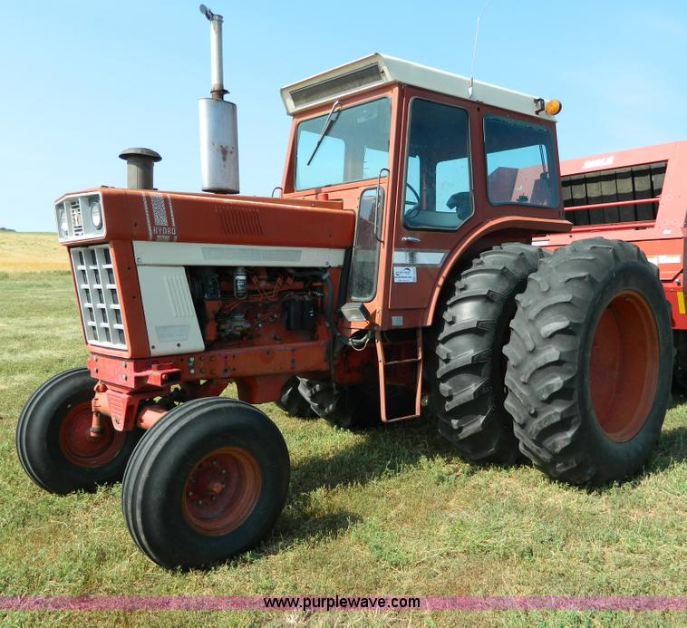 1973 International Tractor : International hydro tractor item g sold