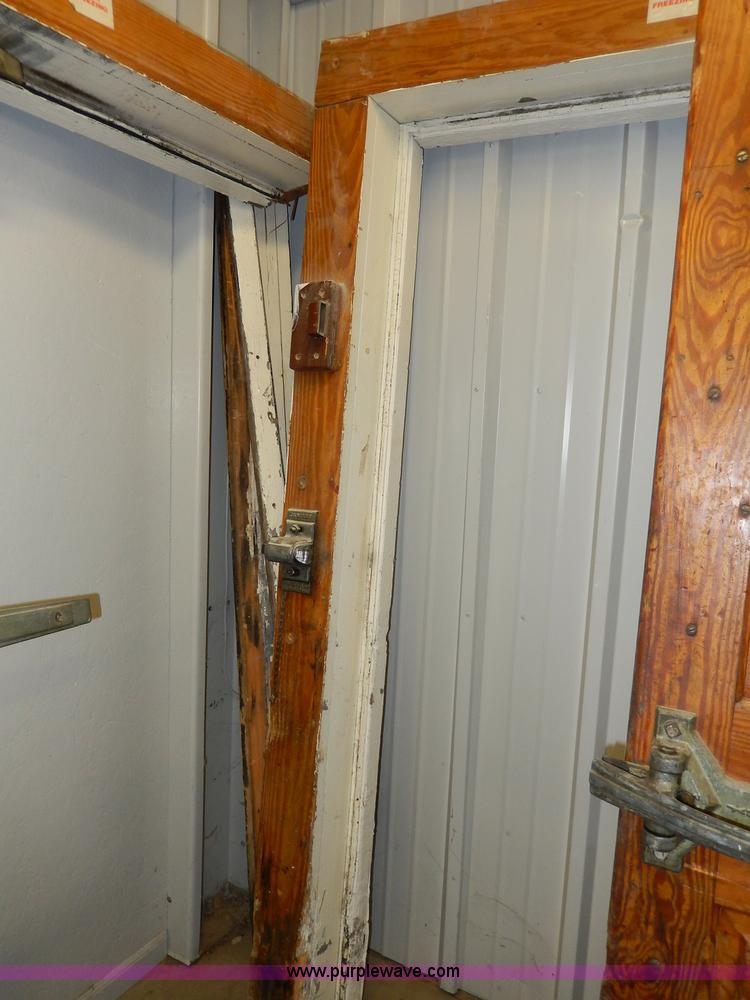Attirant ... AS9380 Image For Item AS9380 (2) Jamison Wood Walk In Freezer Doors And  Jams