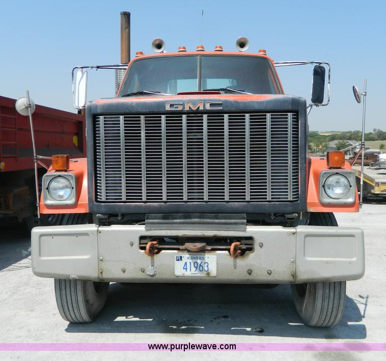 1983 gmc brigadier semi truck item g7932 sold august 6 rh purplewave com 2002 GMC Savana 1982 GMC Brigadier Parts