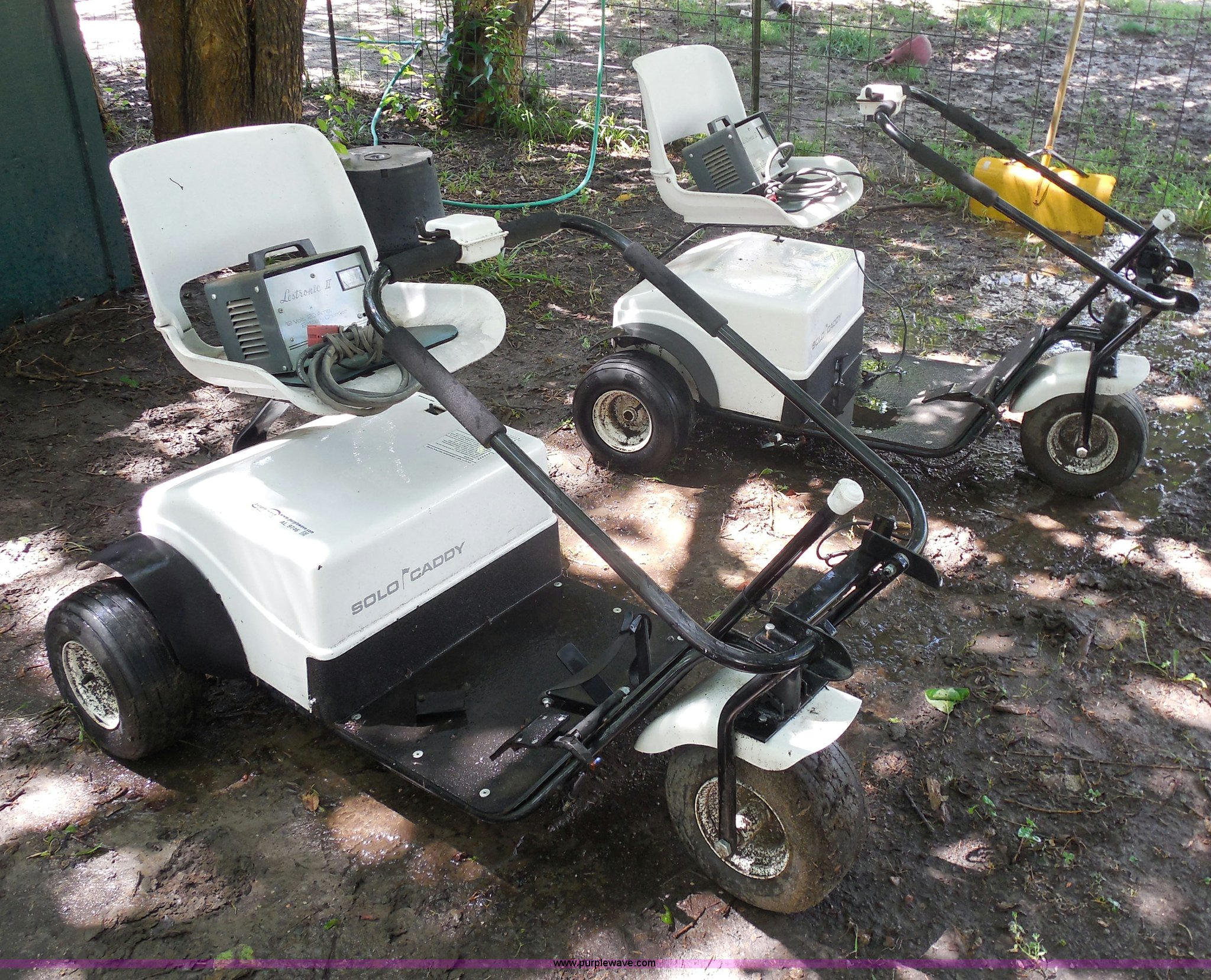2 Solo Caddy Golf Carts Item Al9746 Sold August 6 Gov