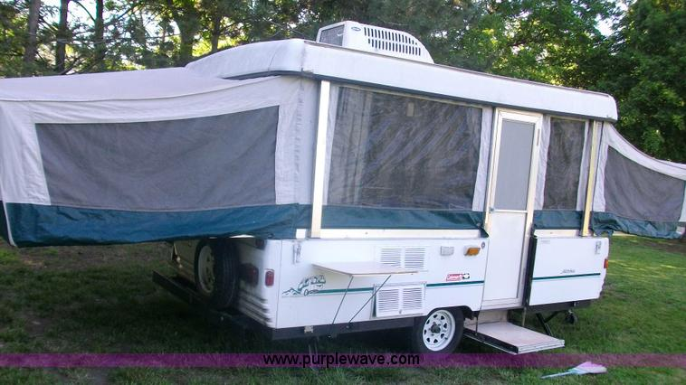 1998 Coleman Fleetwood Natchez Pop Up Camper Item C1231