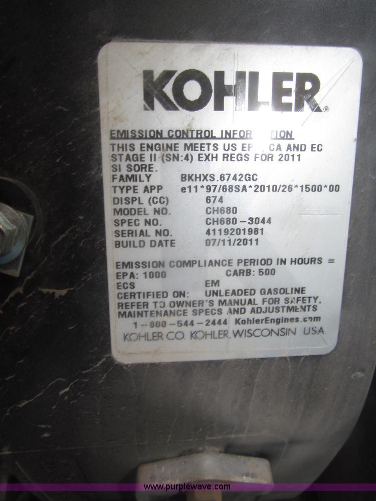 2011 Miller Bobcat 250 CC/CV AC/DC welder generator | Item F