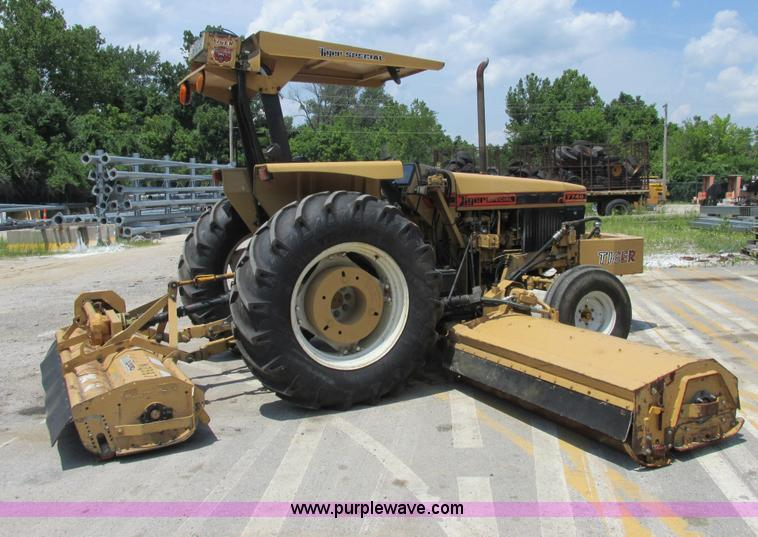 Ford New Holland 7740 tractor | Item E7286 | SOLD! August 14