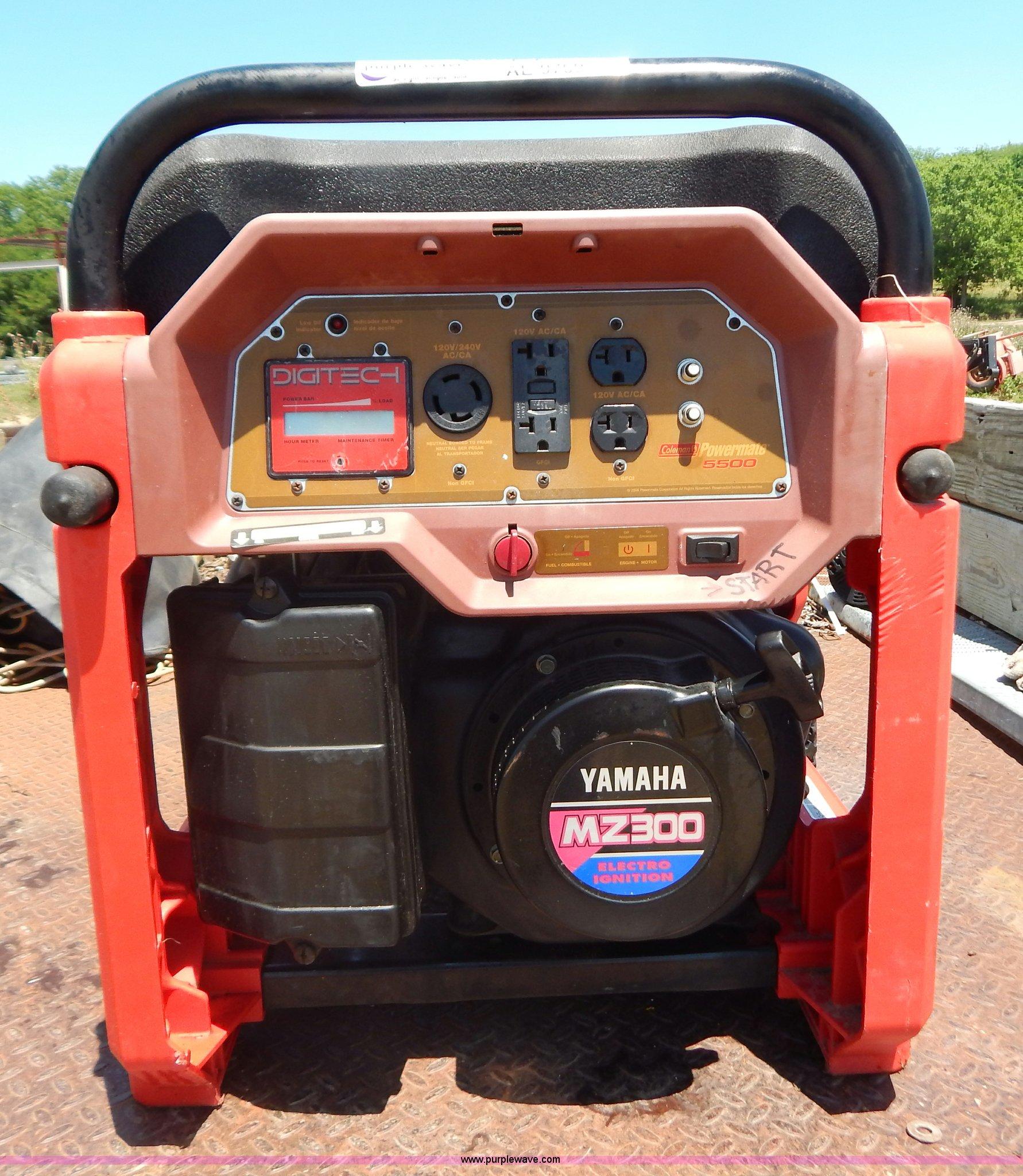 Coleman PowerMate 5,500 watt generator | Item AE9769 | SOLD!