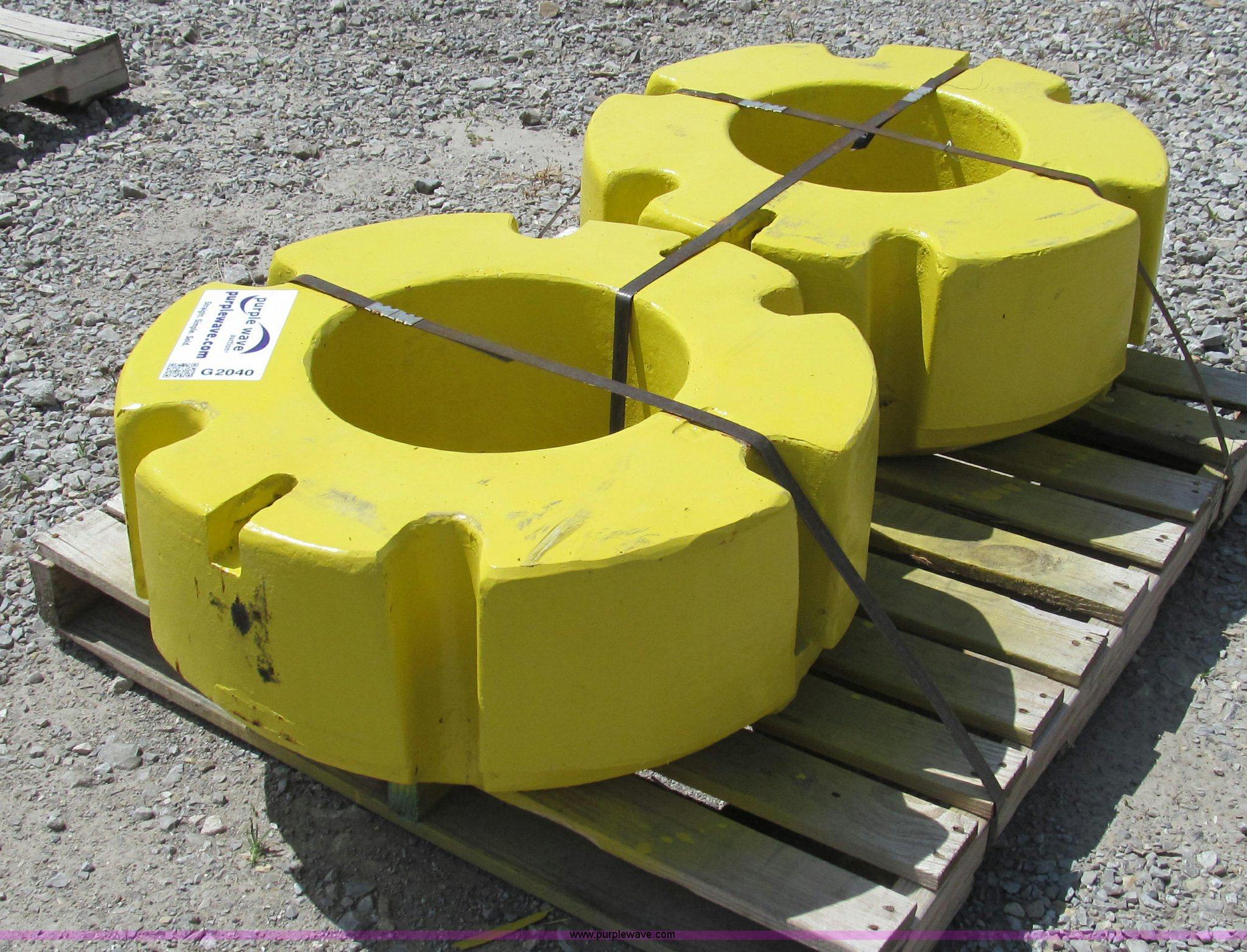 John Deere Rear Wheel Weights : Taylor a john deere aftermarket rear wheel weights