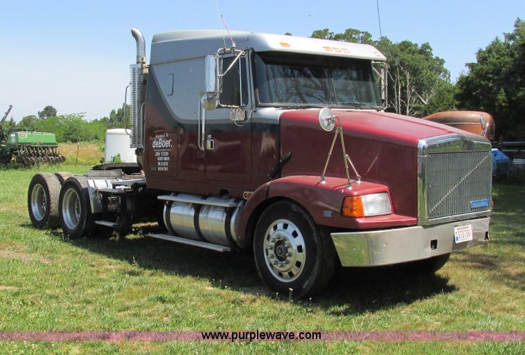 semi truck wiring harness repair 1995 volvo semi truck wiring 1995 volvo wia semi truck   no-reserve auction on tuesday ...