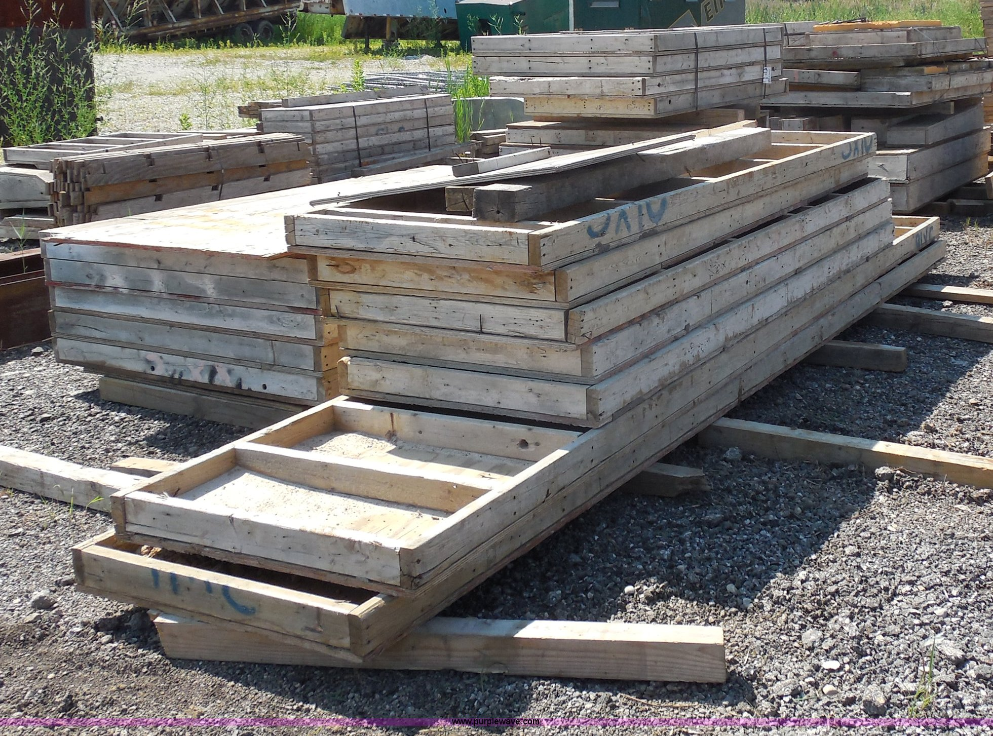 Approximately 60 concrete forms | Item G8607 | SOLD! August
