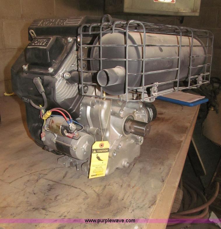 Kohler Command 20 twin cylinder gas engine   Item AE9475   S
