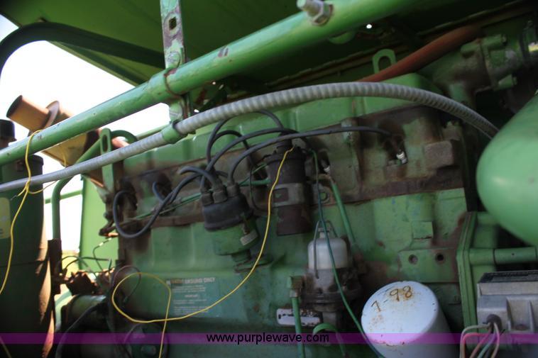 John Deere 95 combine | Item G4011 | SOLD! August 23 Oklahom