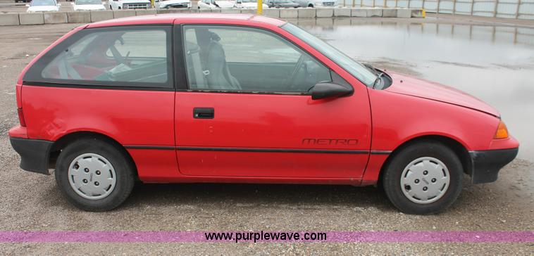 1991 geo metro lsi item i7820 sold august 26 city of wi i7820 image for item i7820 1991 geo metro lsi sciox Choice Image