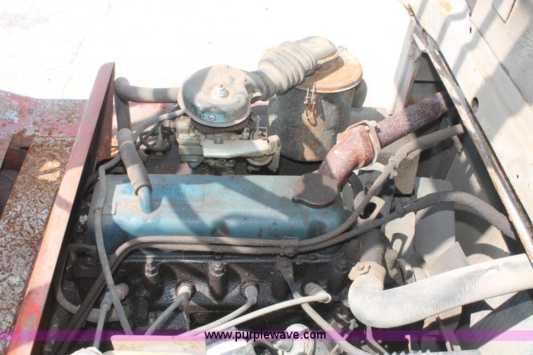 Nissan Datsun 3000 forklift | Item I7888 | SOLD! August 27 C