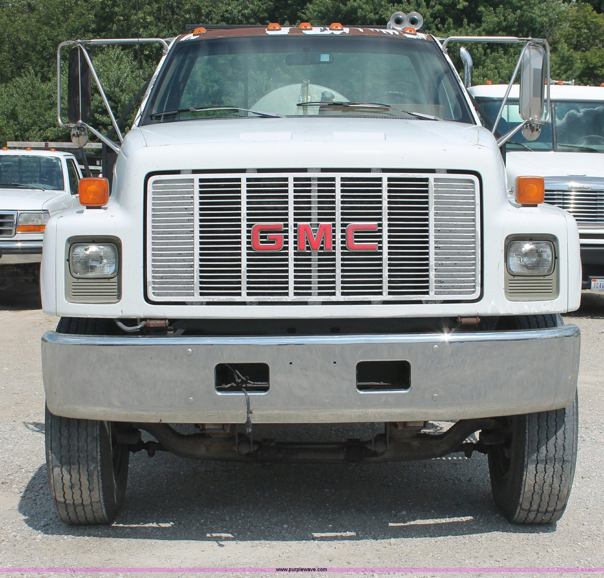Gmc Topkick For Sale 4x4: 1992 GMC TopKick C7H042 Flatbed Truck