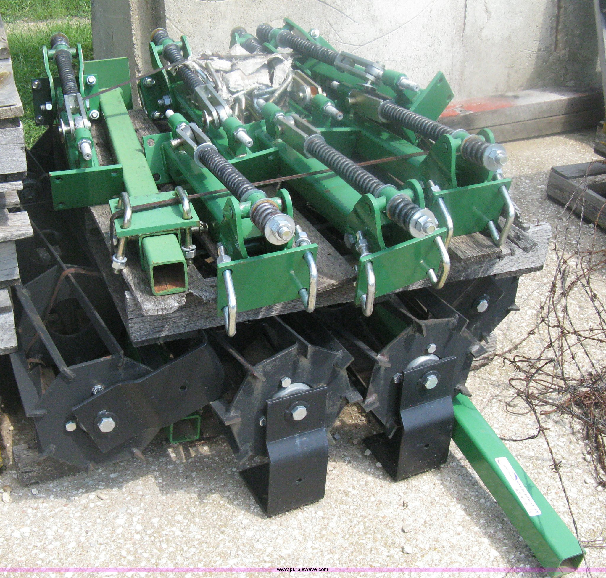 Rolling Basket Harrow : Rolling baskets finish harrow attachment item an