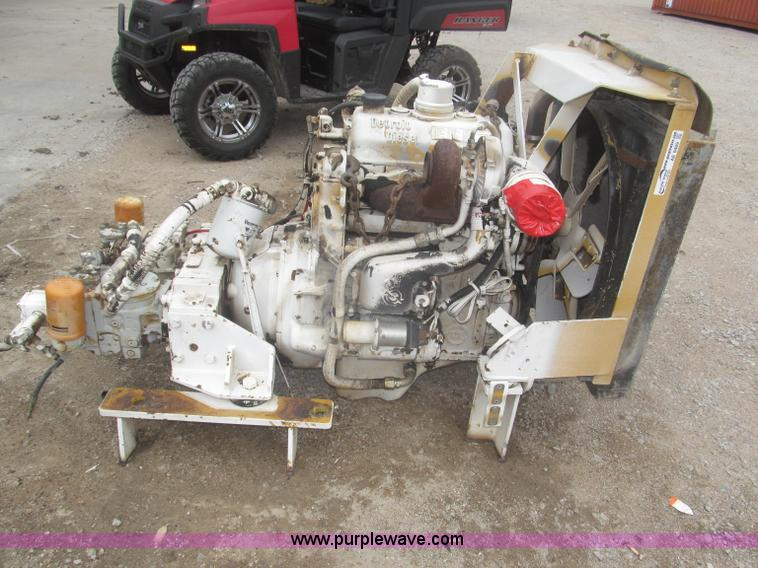 1989 Detroit Diesel 353 three cylinder turbo diesel engine |