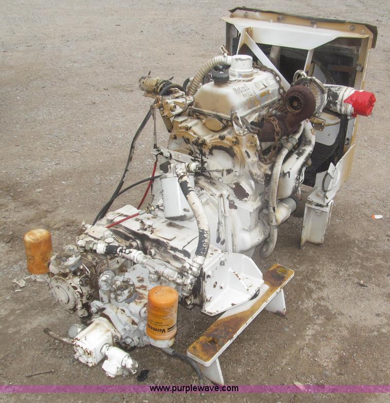 1989 Detroit Diesel 353 three cylinder turbo diesel engine  