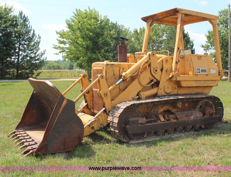 Track Loader For Sale >> 1974 Caterpillar 955l Track Loader Item H6547 Sold Augu