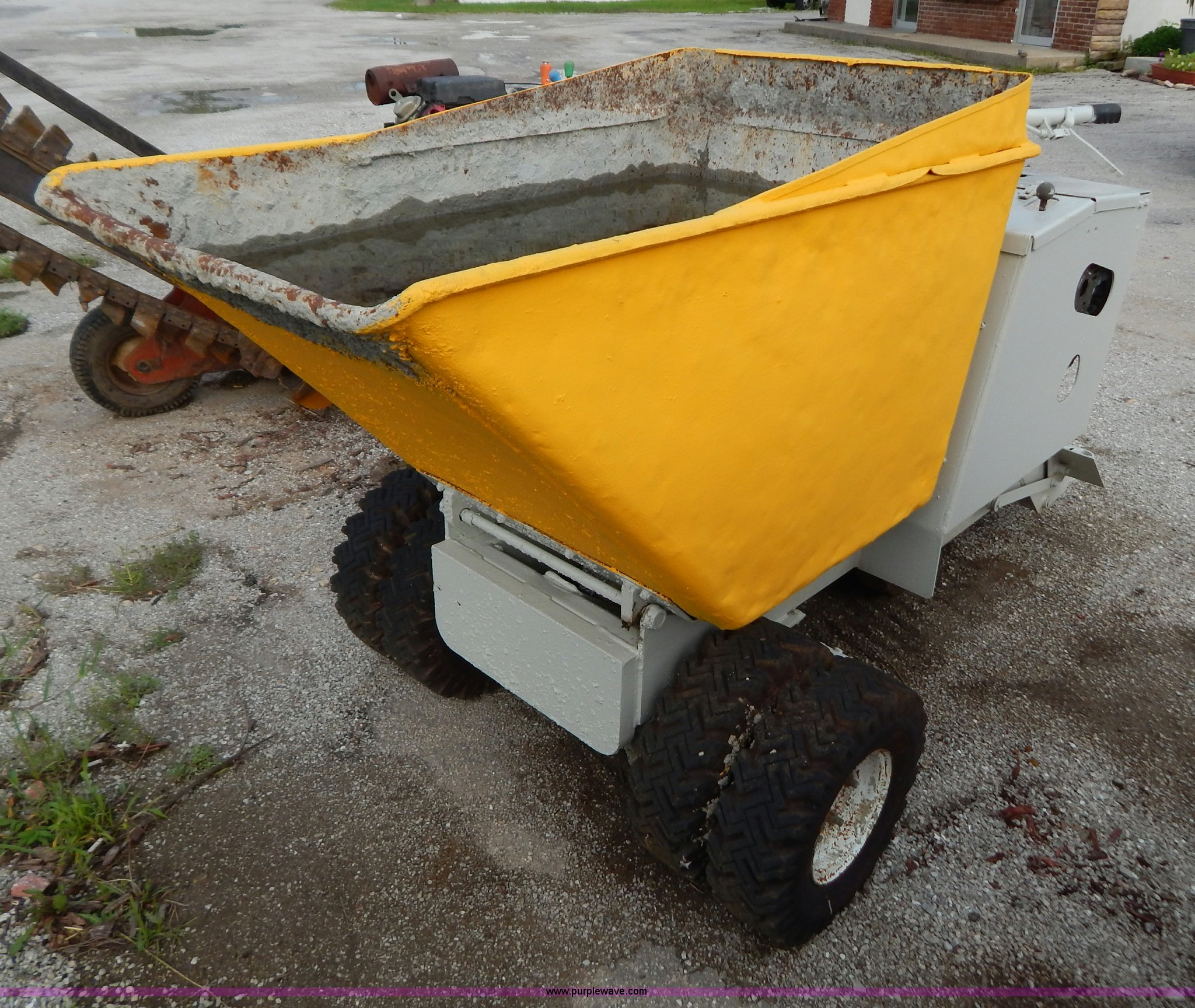 Mahto m25rh georgia buggy item aw9226 selling at sold for Concrete home builders in georgia