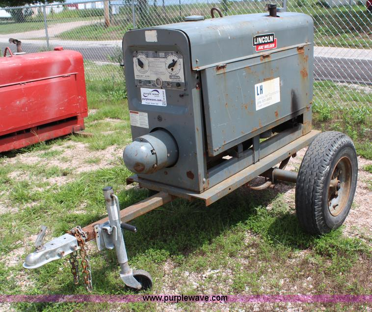 Lincoln Welders For Sale >> Lincoln Sa200 Welder Item H6582 Sold September 4 Vehicl