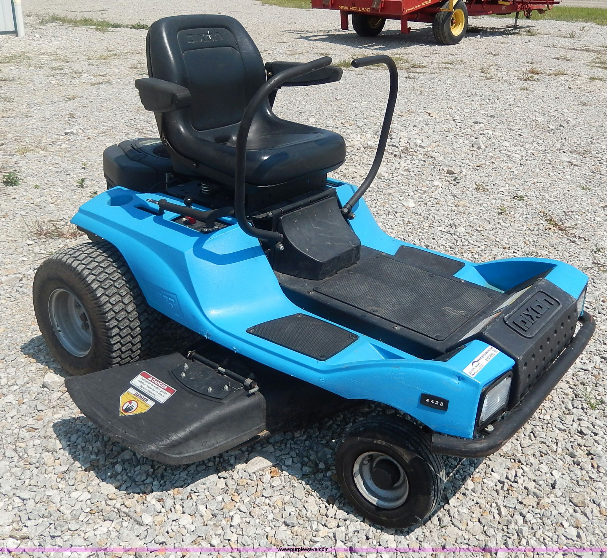 3500 series ztr Array - dixon 4423 ztr lawn mower item aw9656 sold  september 4 rh purplewave com
