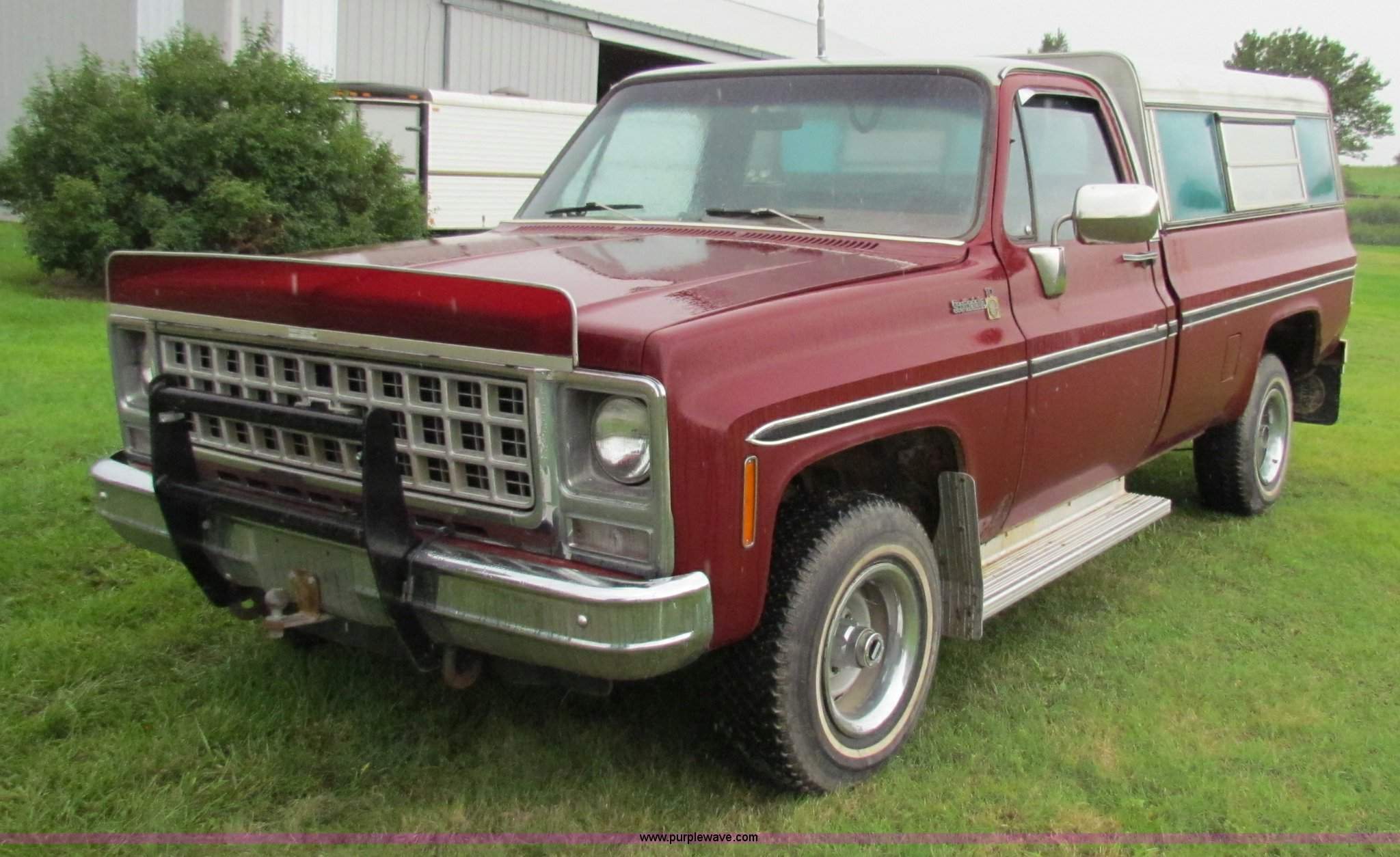 1980 Chevrolet Scottsdale Pickup Truck Item G4077 Sold Chevy Image For