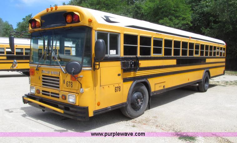 2003 Blue Bird Tc2000 School Bus No Reserve Auction On