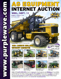 View September 11 Ag Equipment Auction flyer
