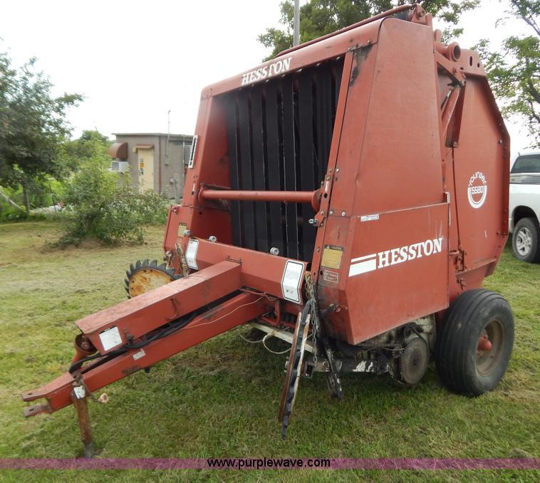 Hesston 5540 hay baler manual
