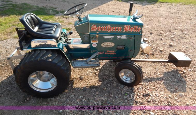Lawn Garden Tractor Pulling : Cub cadet pulling lawn tractor item aw sold